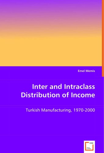 Inter and Intraclass Distribution of Income: Turkish Manufacturing, 1970-2000