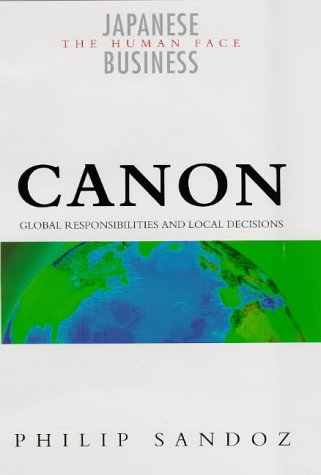 Canon (Japanese business: the human face)