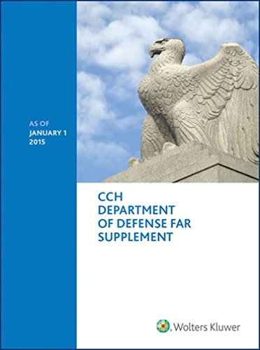 Department of Defense FAR Supplement (DFARS) - as of January 1, 2015
