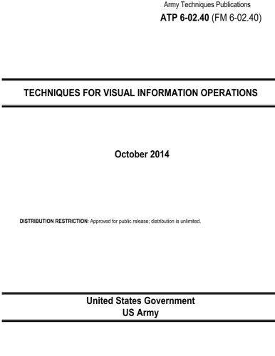 Army Techniques Publications ATP 6-02.40 (FM 6-02.40) Techniques for Visual Information Operations October 2014