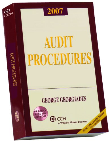 Audit Procedures, 2007 (with CD-ROM)