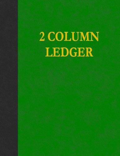 2 Column Ledger