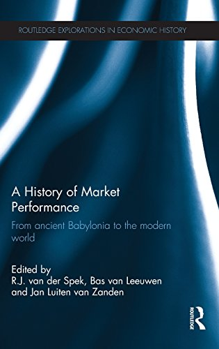 A History of Market Performance: From Ancient Babylonia to the Modern World (Routledge Explorations in Economic History)