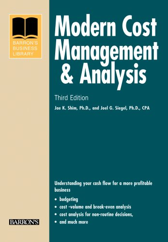 Modern Cost Management & Analysis (Barron's Business Library)