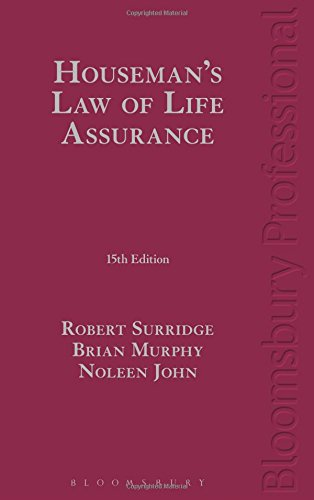 Houseman's Law of Life Assurance: 15th Edition