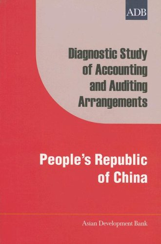 Diagnostic Study of Accounting and Auditing Arrangements: People's Republic of China (Asian Development Bank series)