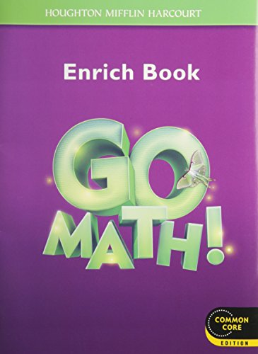 Go Math!: Student Enrichment Workbook Grade 3