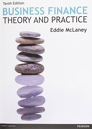 Business Finance: Theory & Practice, 10th edition