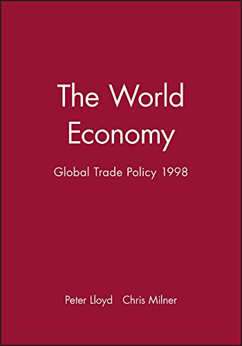 The World Economy, Global Trade Policy 1998 (World Economy Special Issues)