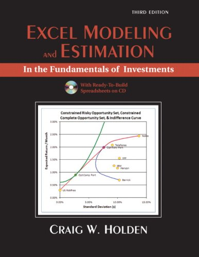 Excel Modeling in Corporate Finance (4th Edition) (Prentice Hall Series in Finance)