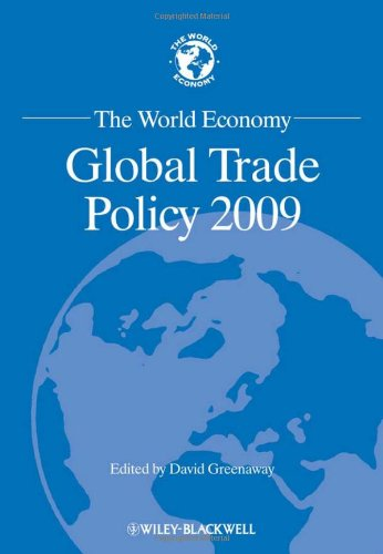 The World Economy: Global Trade Policy 2009 (World Economy Special Issues)
