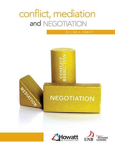 Conflict, Mediation and Negotiation