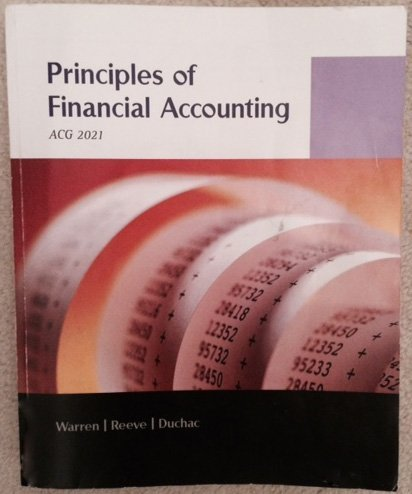 Principles of Financial Accounting ACG 2021 Custom Edition for Hillsborough Community College