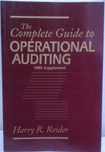 The Complete Guide to Operational Auditing, 1995 Supplement