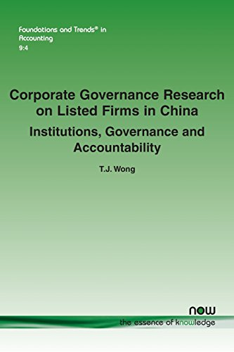 Corporate Governance Research on Listed Firms in China: Institutions, Governance and Accountability (Foundations and Trends(r) in Accounting)