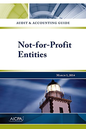 Not-for-Profit Entities - Audit and Accounting Guide