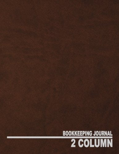 2 Column Bookkeeping Journal