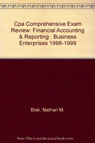 CPA Comprehensive Exam Review, 2002-2003: Financial Accounting & Reporting (31st Edition)