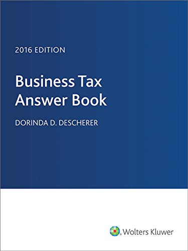 Business Tax Answer Book (2014)