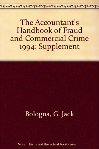 The Accountant's Handbook of Fraud and Commercial Crime