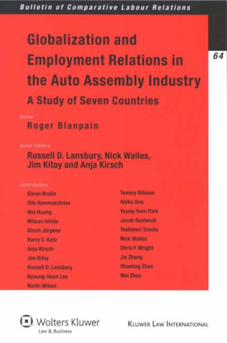 Globalization Employment Relations in the Auto Assembly Industry (Bulletin of Comparative Labor Relations)