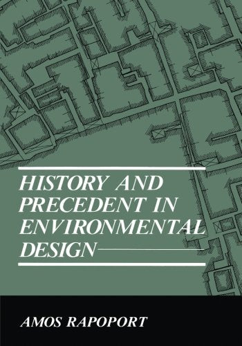 History and Precedent in Environmental Design (Research and Data Analysis)