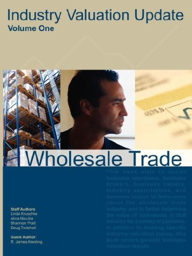 Industry Valuation Update, Wholesale Trade