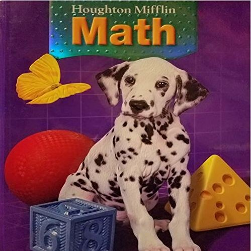 Houghton Mifflin Mathematics: Student Edition, Level 1