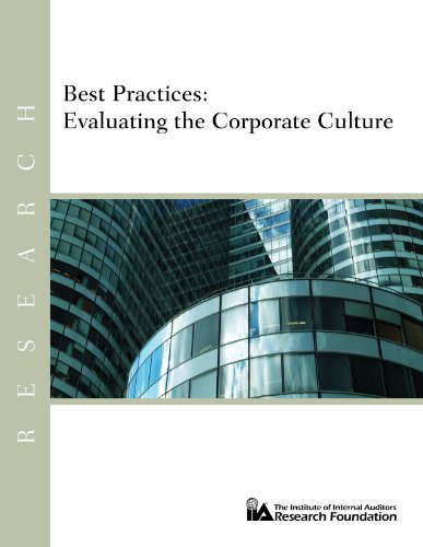 Best Practices: Evaluating the Corporate Culture
