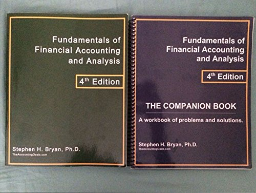 Fundamentals of Financial Accounting and Analysis 4th edition