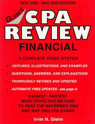 CPA Review Financial 2002-2003