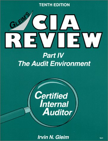 CIA Review, Part 4: The Audit Environment