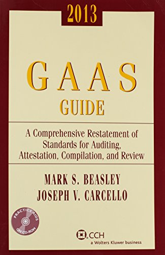 GAAS Guide, 2013 (with CD-ROM) (Comprehensive G.A.A.S. Guide)