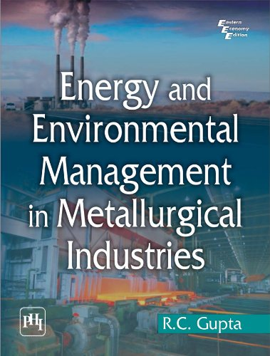 Energy and Environment Management in Metallurgical Industries