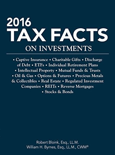 Tax Facts on Investment 2016 (Tax Facts on Investments)