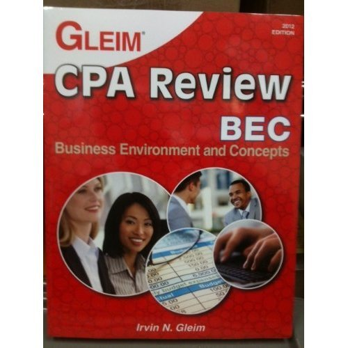 CPA Review Business, 2012