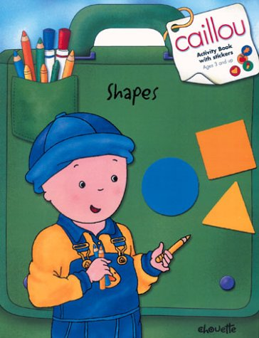 Caillou Shapes with Sticker
