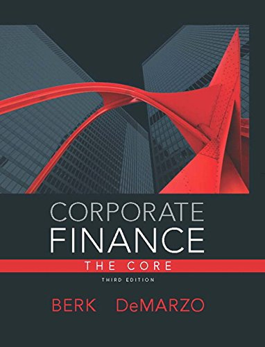 Corporate Finance: The Core Plus NEW MyFinanceLab with Pearson eText --- Access Card Package (3rd Edition)