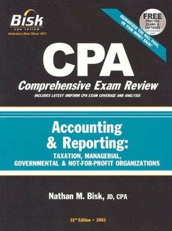CPA Comprehensive Exam Review, 2003: Accounting & Reporting (32nd Edition)