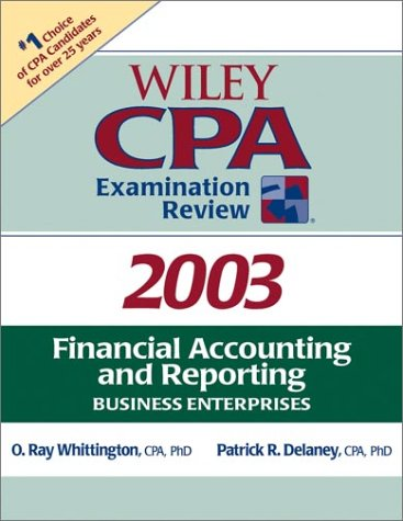 Financial Accounting and Reporting (Wiley CPA Examination Review 2003)