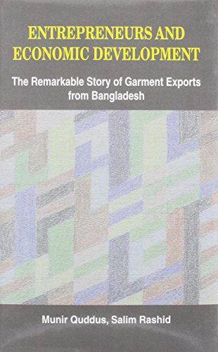 Entrepreneurs and Economic Development: The Remarkable Story of Garment Exports from Bangladesh