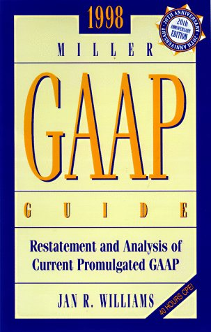 GAAP GUIDE 1998/COLLEGE EDITION