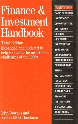 Barron's Finance and Investment Handbook, 7th Edition