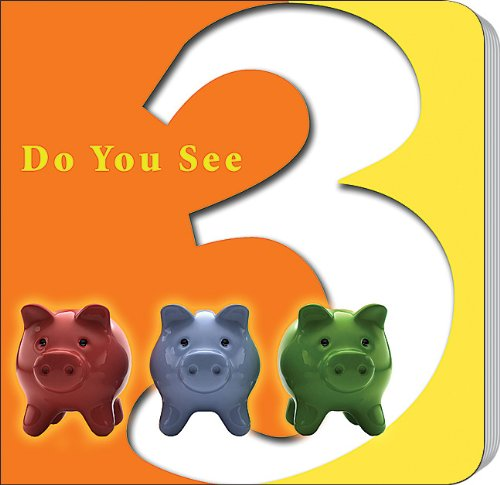 Do You See Three? (Counting & Math Board Books)