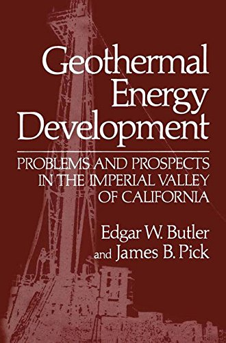 Geothermal Energy Development: Problems and Prospects in the Imperial Valley of California