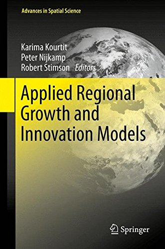 Applied Regional Growth and Innovation Models (Advances in Spatial Science)