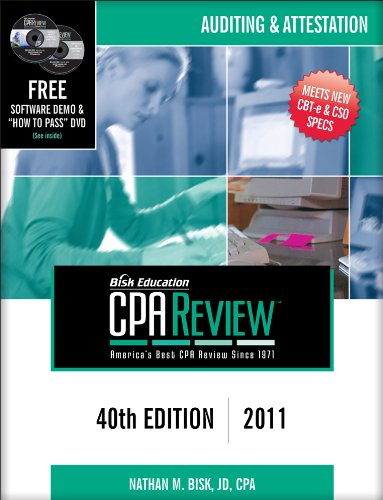 Bisk CPA Review: Auditing & Attestation, 40th Edition (CPA Comprehensive Exam Review- Auditing and Attestation)
