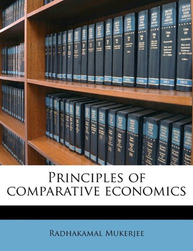 Principles of comparative economics