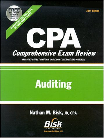 CPA Comprehensive Exam Review, 2002-2003: Auditing (31st Edition)