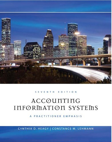 Accounting Information Systems: A Practitioner Emphasis